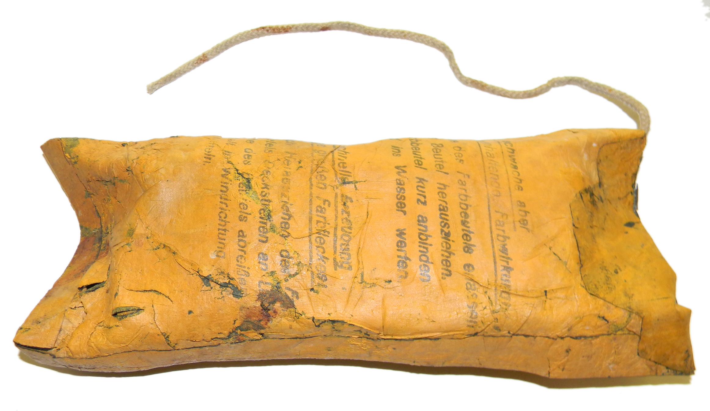 LW Farbbeutel dye pack second type