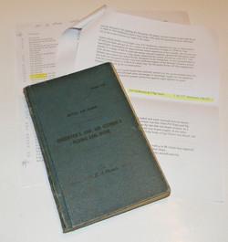 RAF Mosquito log book