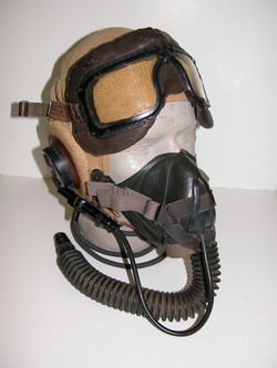 RCAF helmet and GPR mask