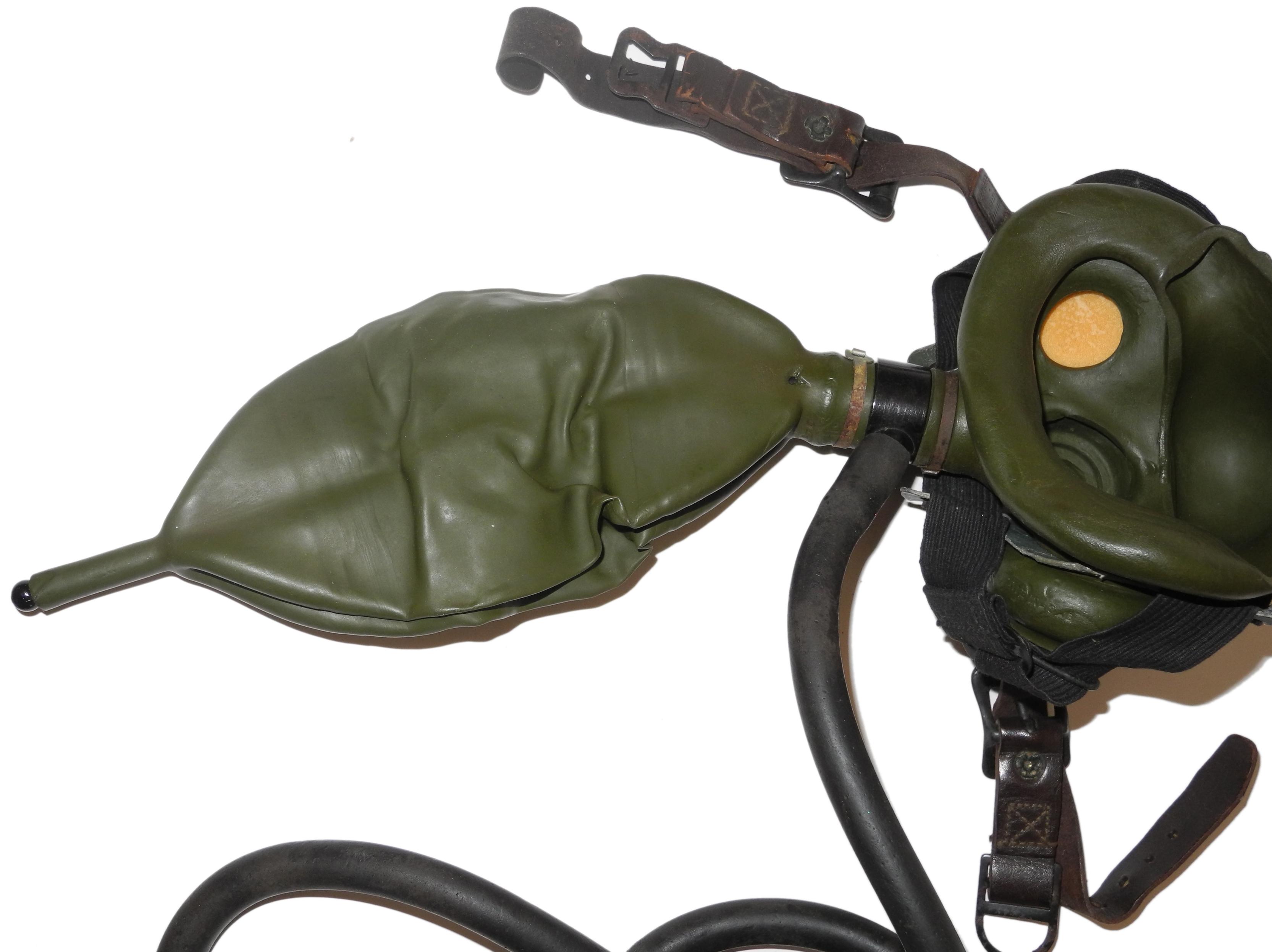 AAF USN A-8B oxygen mask