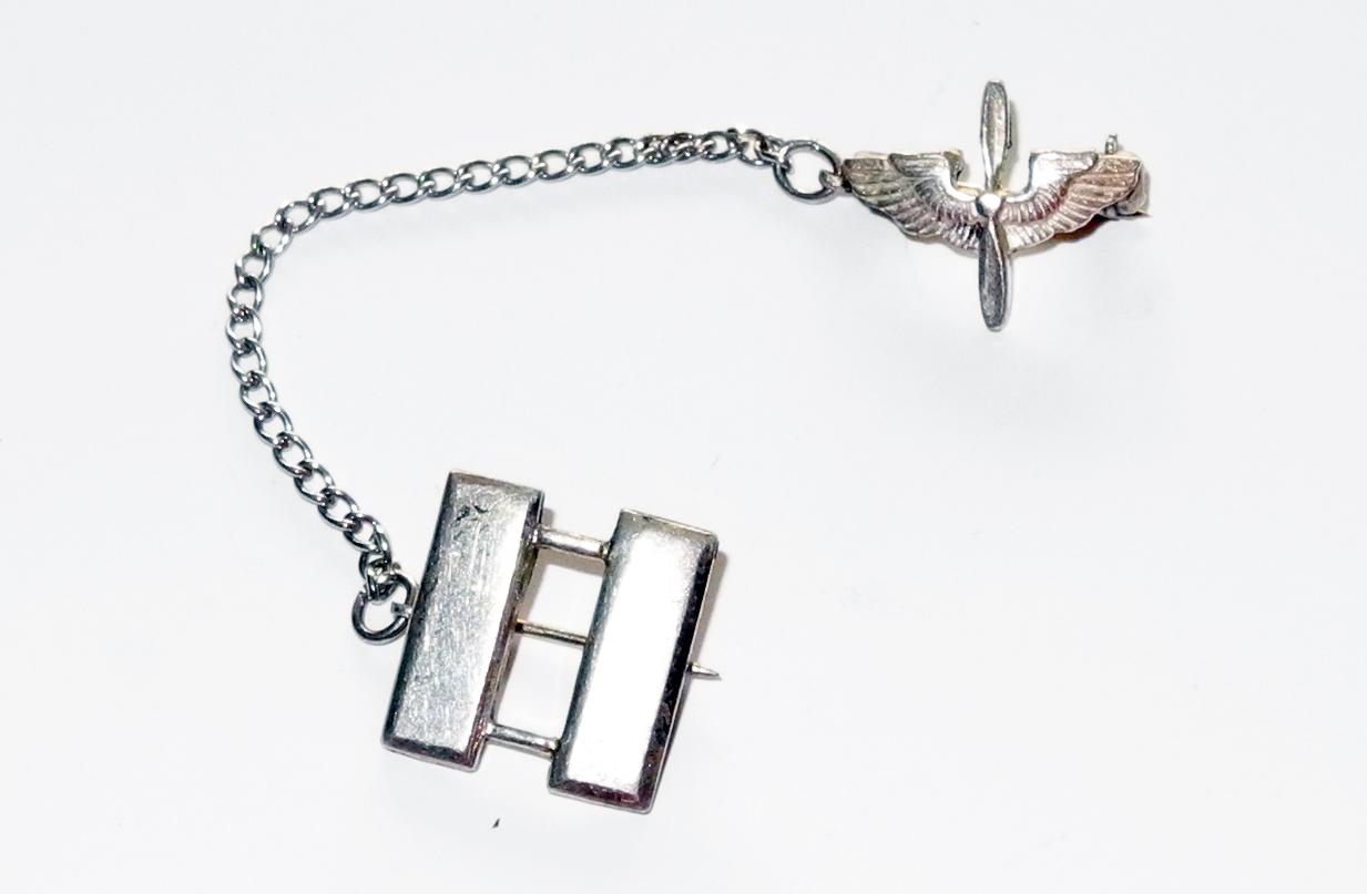 AAF Captain's sweetheart brooch