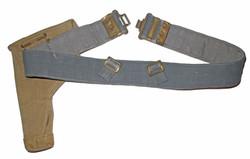 RAF webbing belt and holster