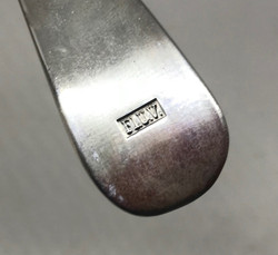 LW 1940 dated serving spoon