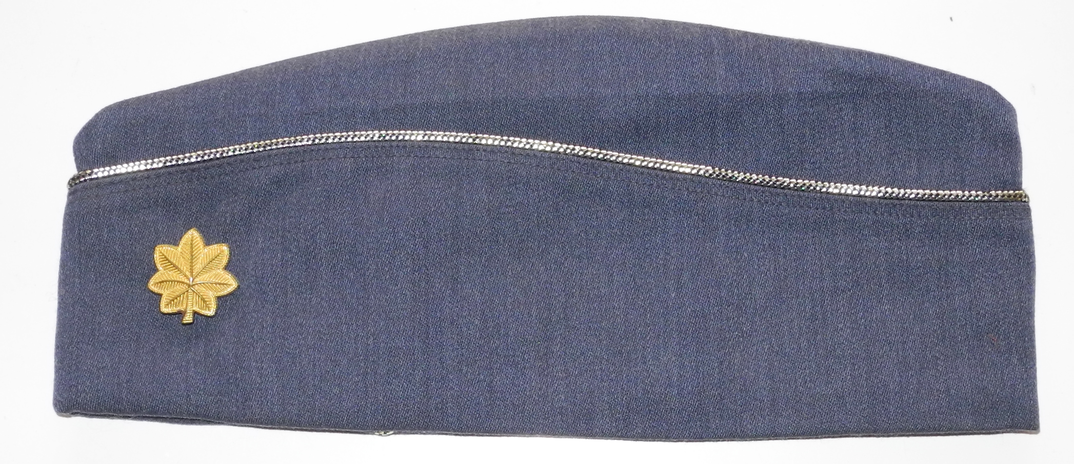 USAF 1960s officer's overseas cap with rank of major.