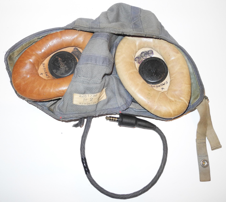 RAF Type G helmet, Cold War era.