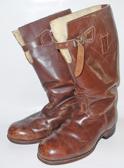 RAAF 1936 pattern Boots in brown leather by Bedggood
