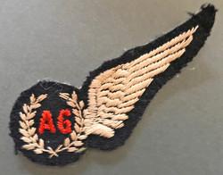 WW2 SAAF Air Gunner brevet