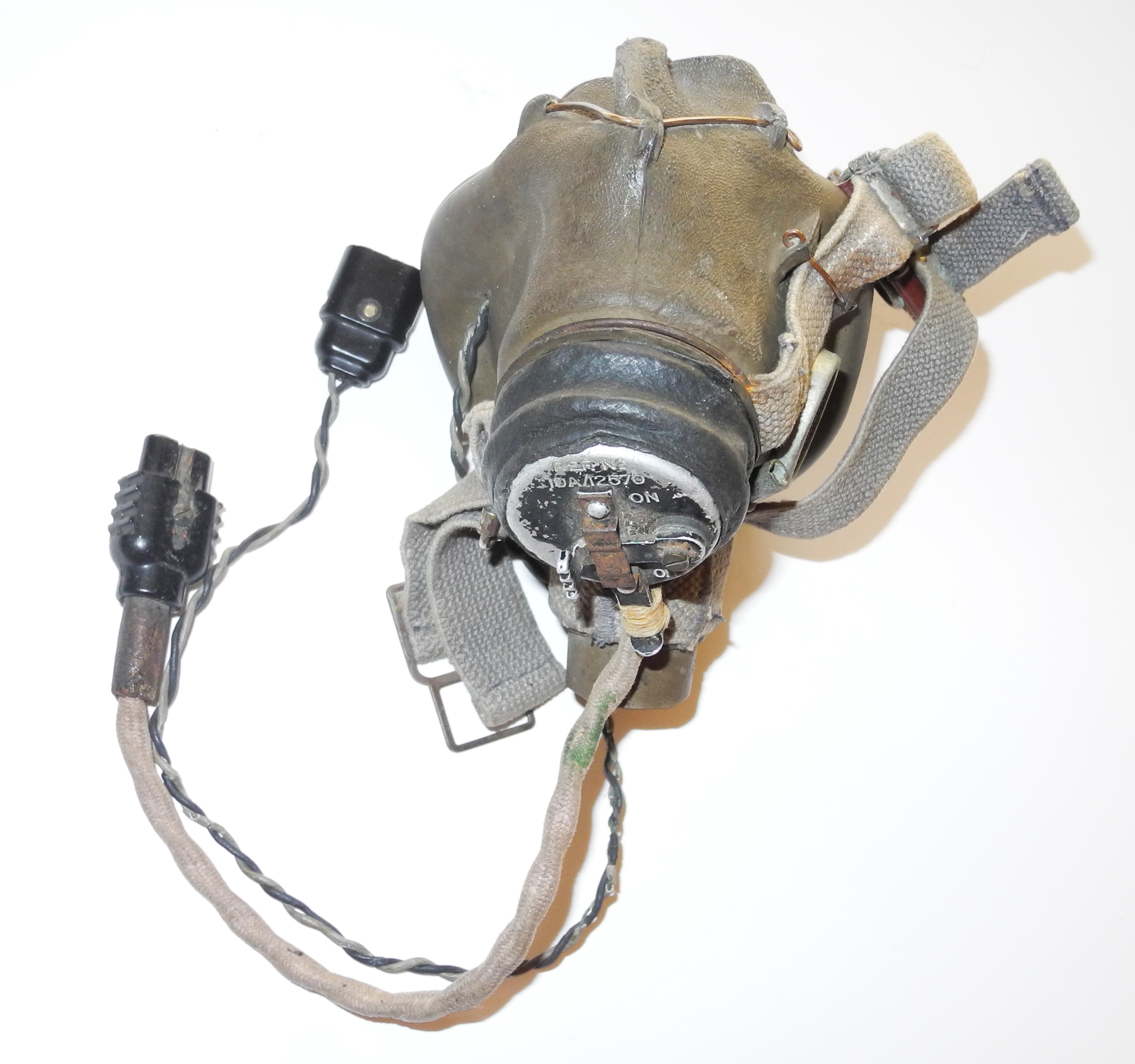 RAF Type G oxygen mask with microphone heater