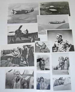 Eagles and AAF fighter pilots original photos
