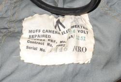 RAF Aerial Photographer's Camera Muff