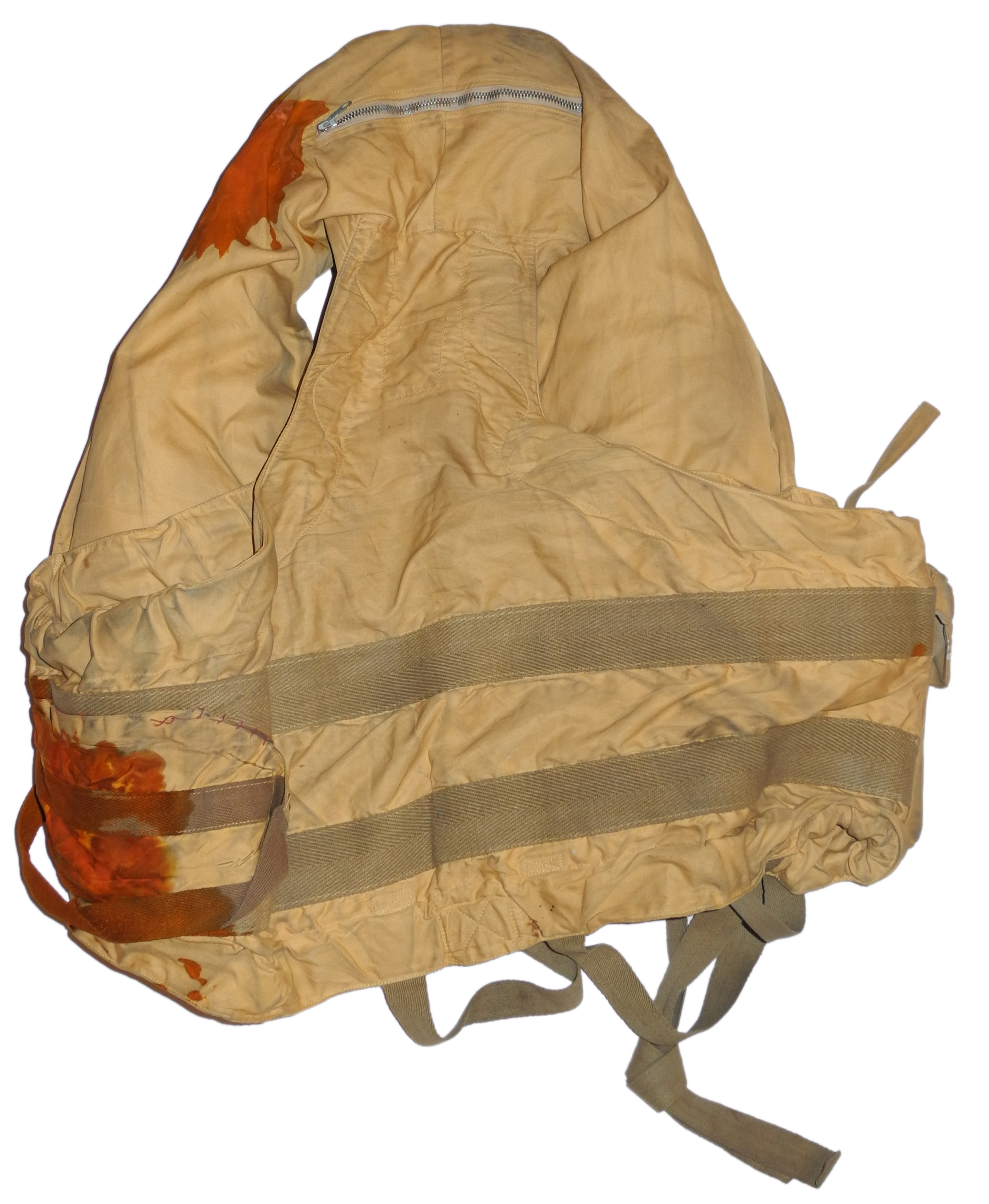 FAA 1941 pattern life vest and kit bag