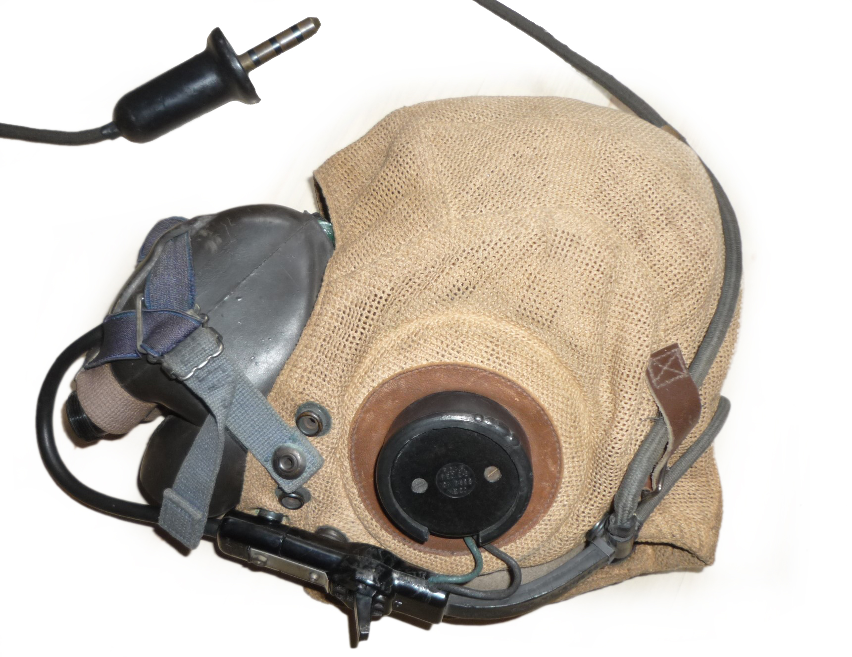 RCAF helmet and mask