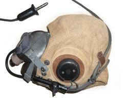 RCAF helmet and mask
