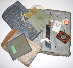 USN M-592 Survival Back Pack with 90% contents