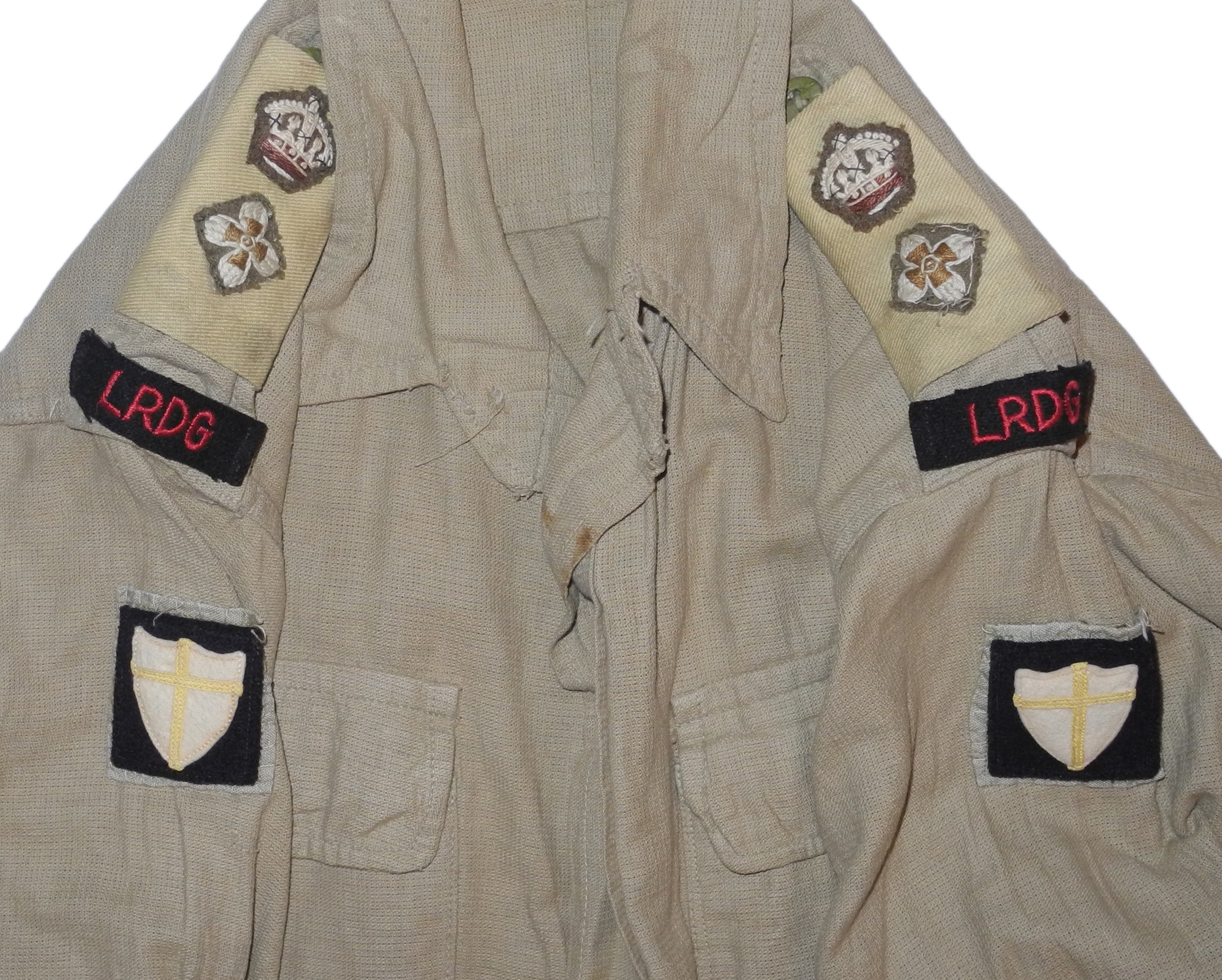 British 8th Army LRDG bush shirt/jacket19