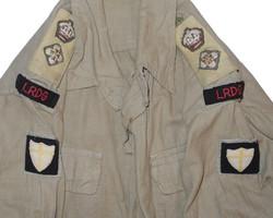 British 8th Army LRDG bush shirt/jacket19
