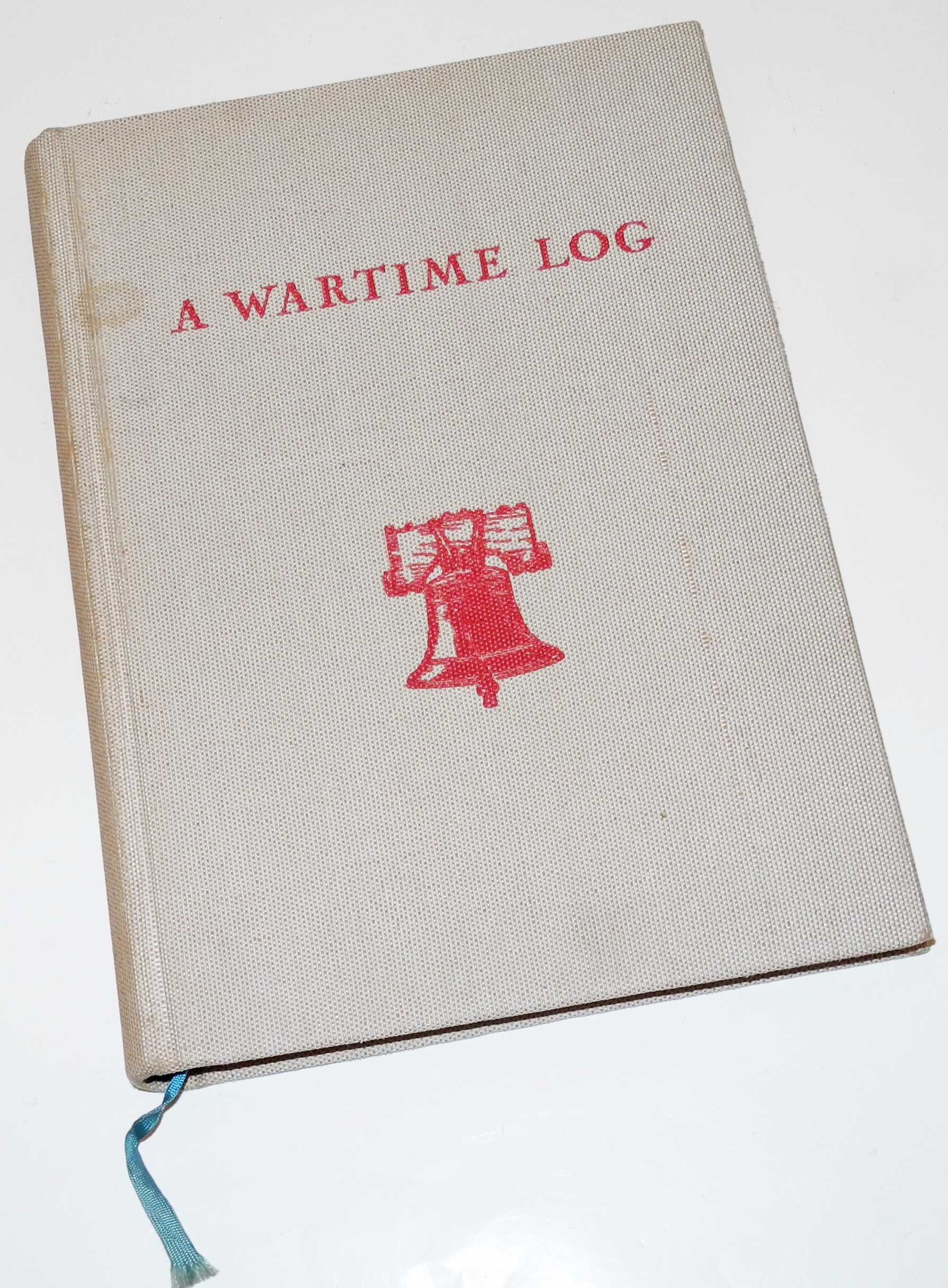 POW Wartime log/diary given by YMCA - unused