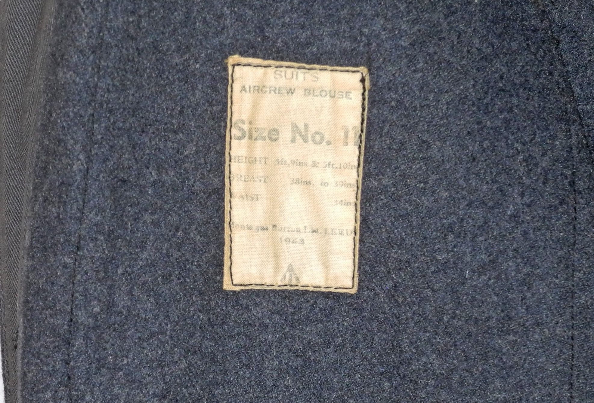RAF Suits Aircrew blouse 1943N5979