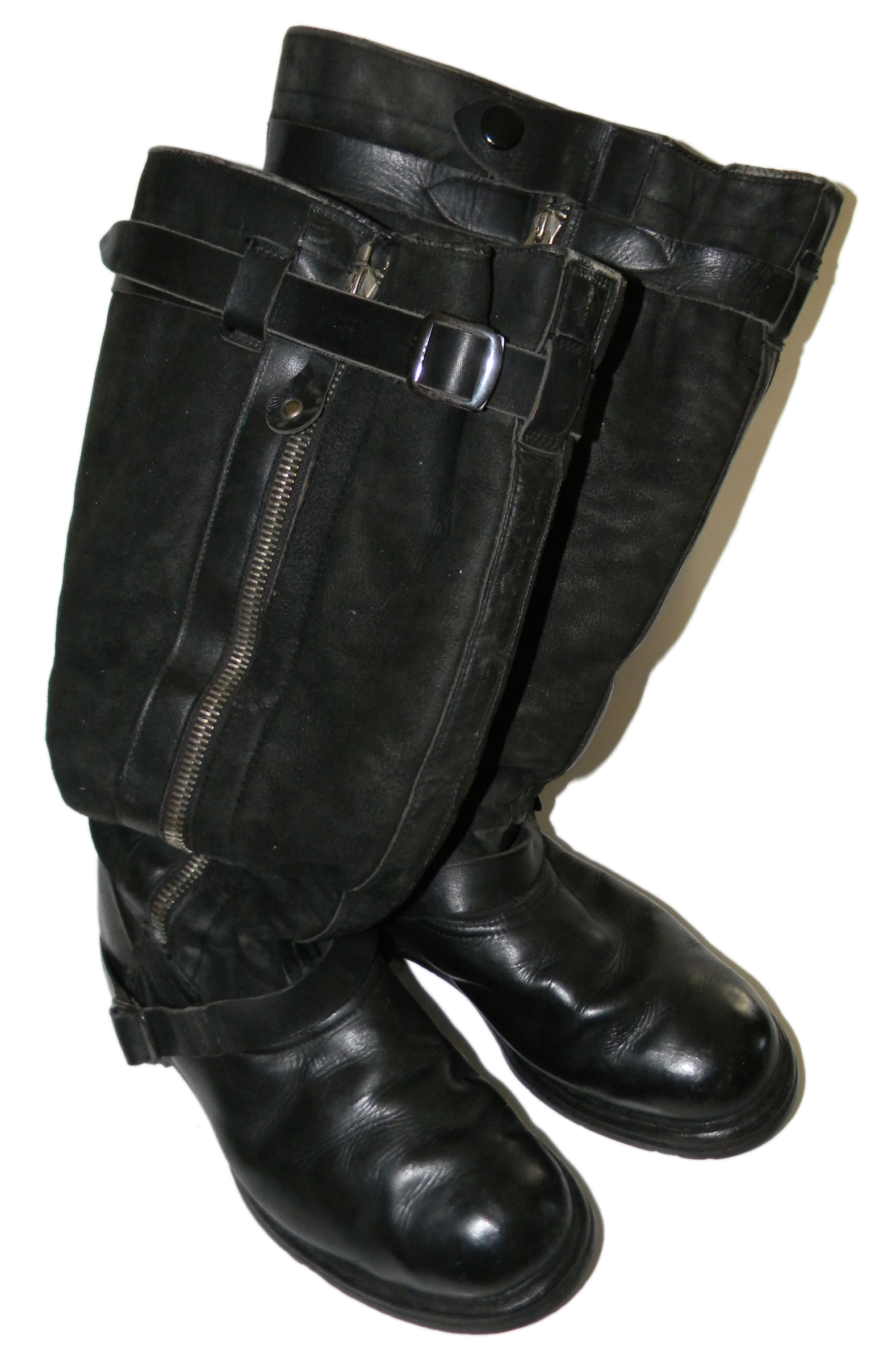 1939 Luftwaffe double-zip boots
