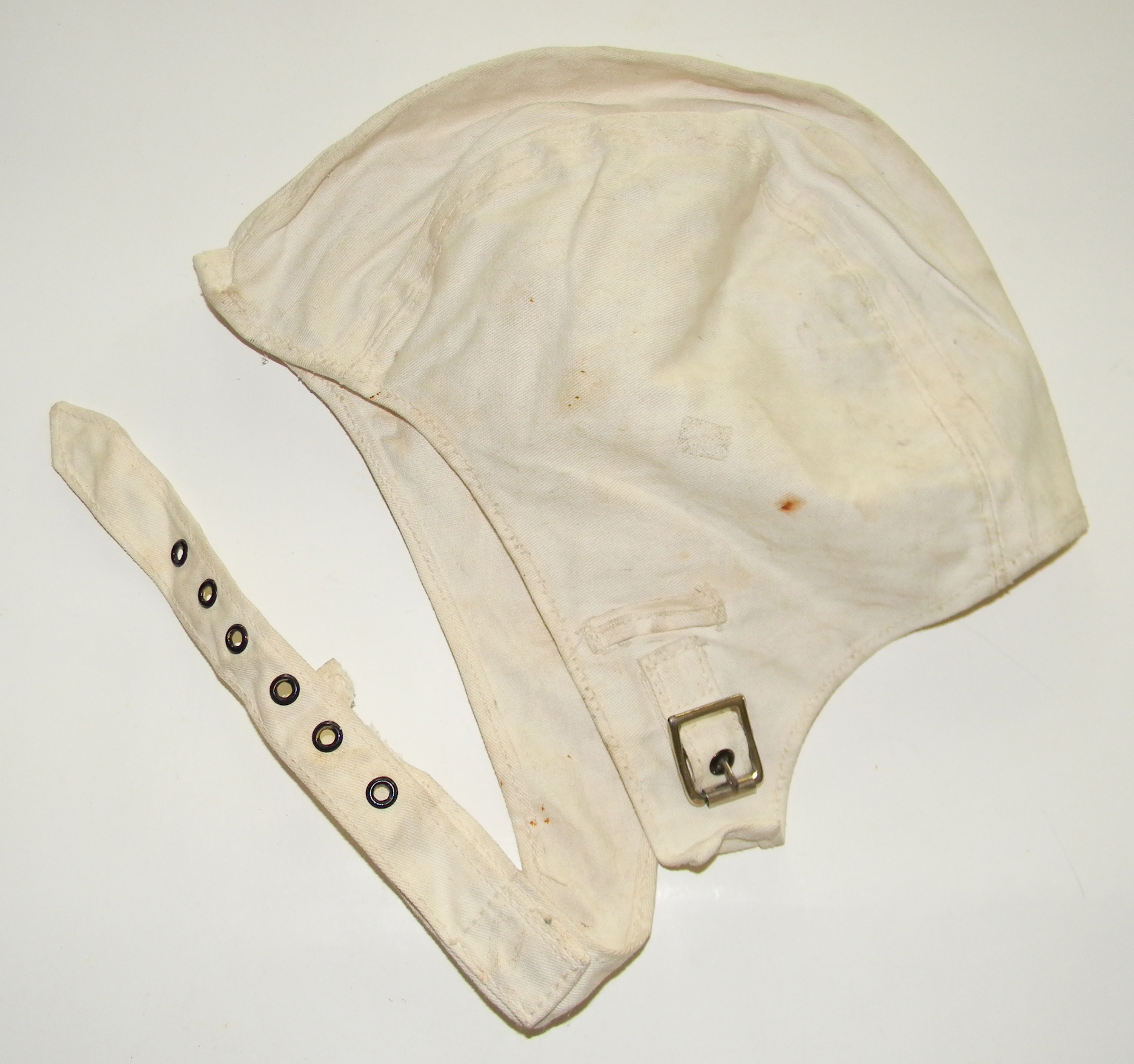 WWII 1943 USN deck / flight helmet