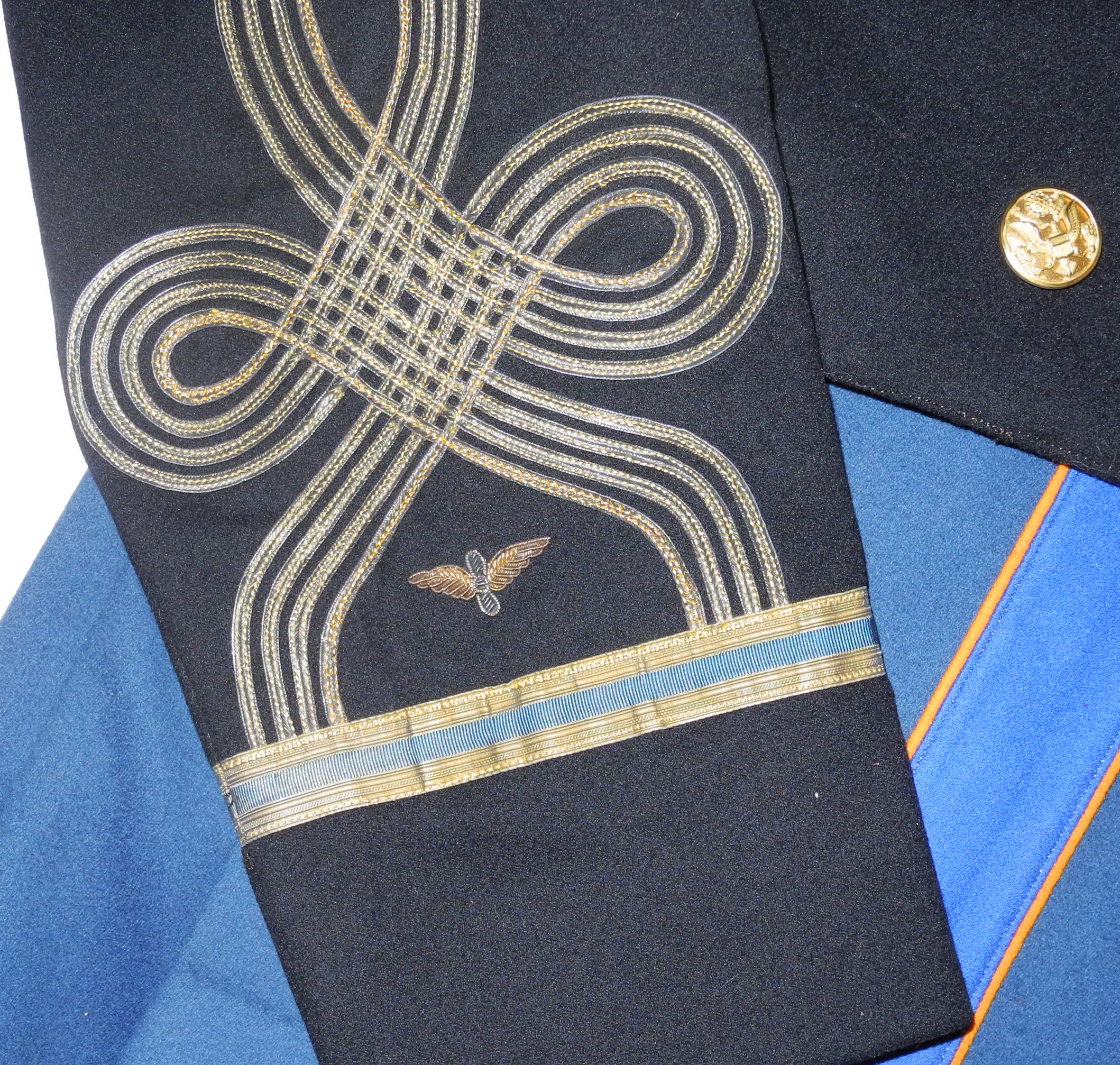 US Army Air Corps officer pilot's mess dress