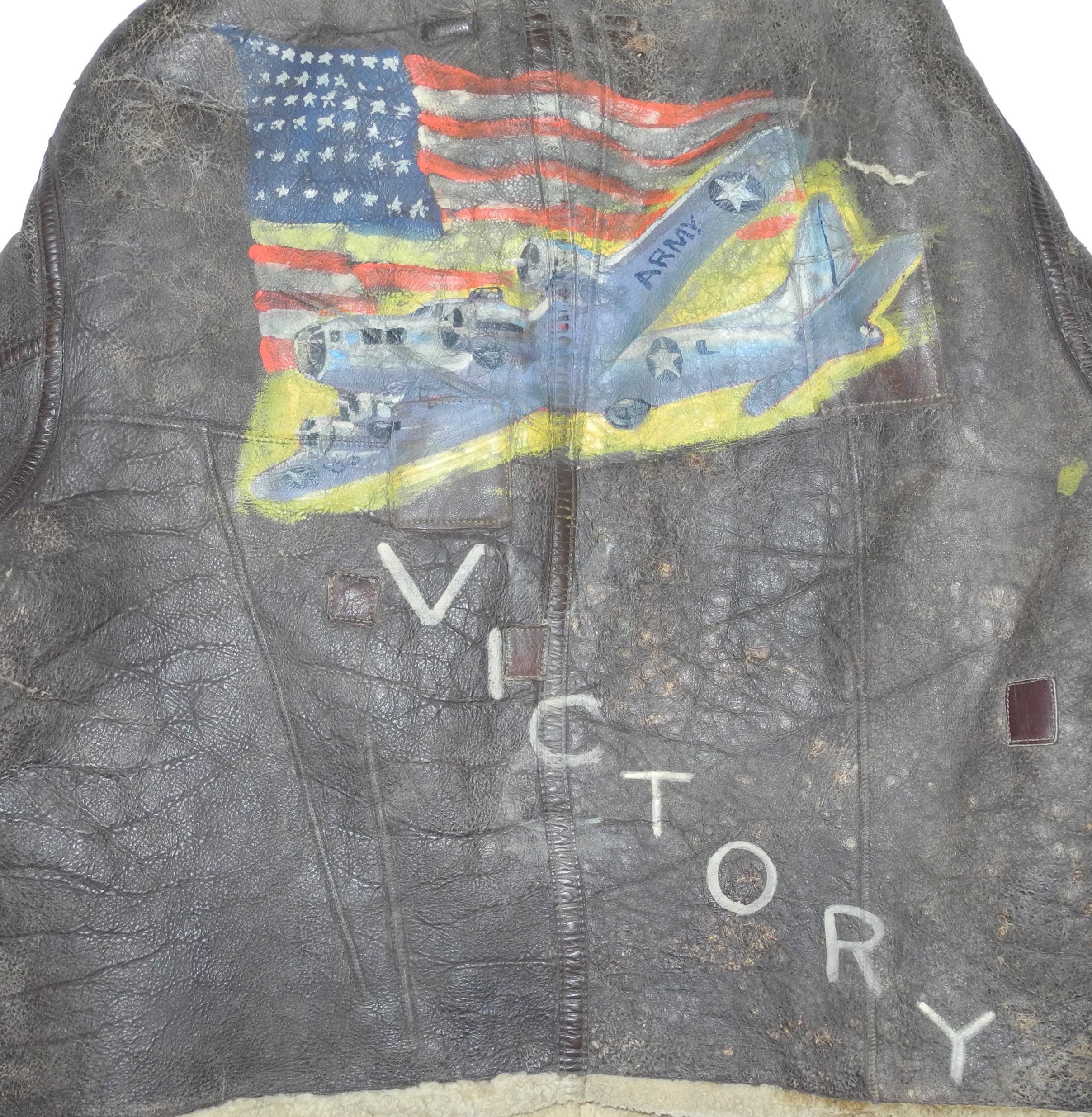 AAF Painted D-1 Flying Jacket