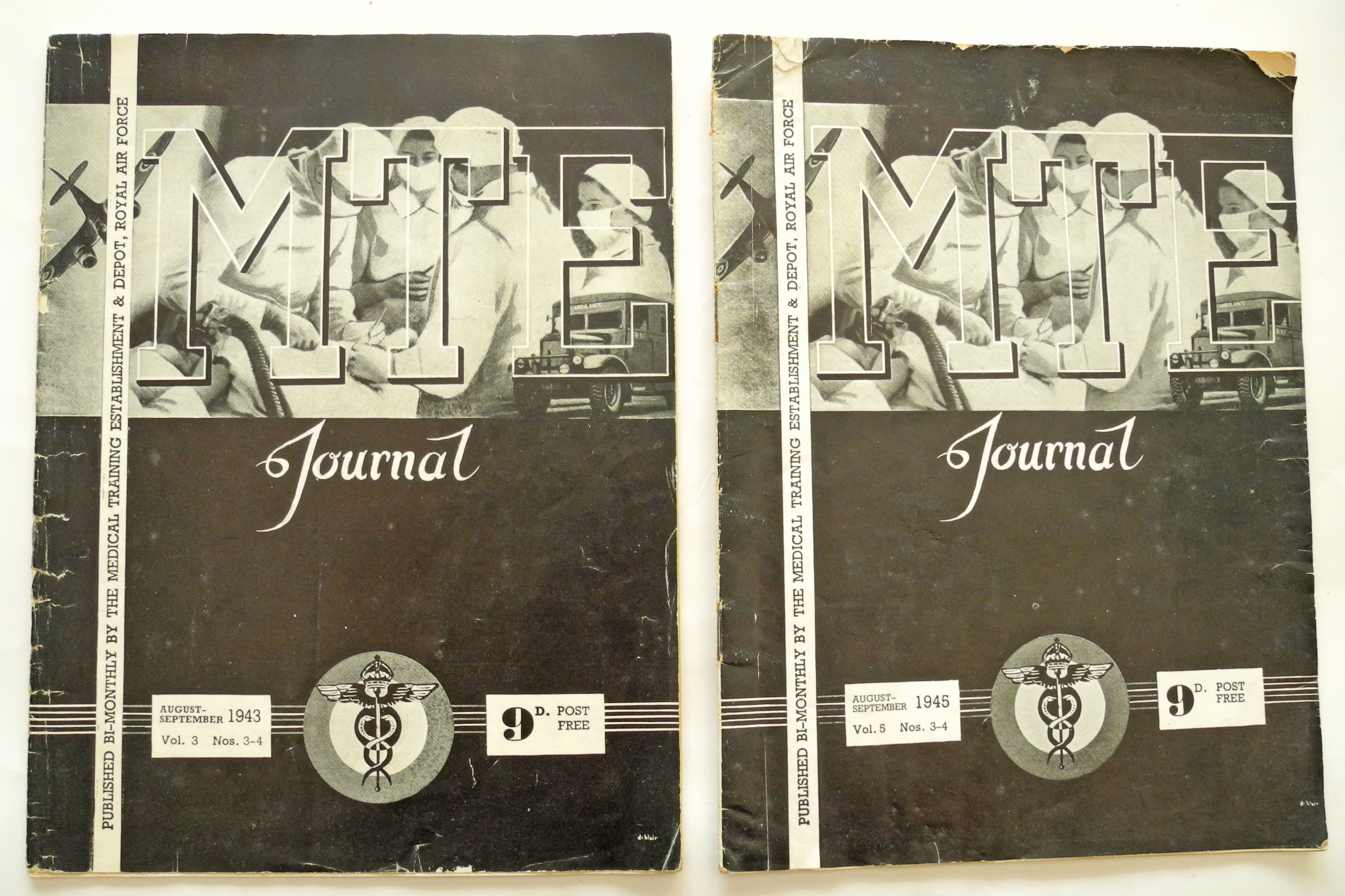 RAF wartime medical journals