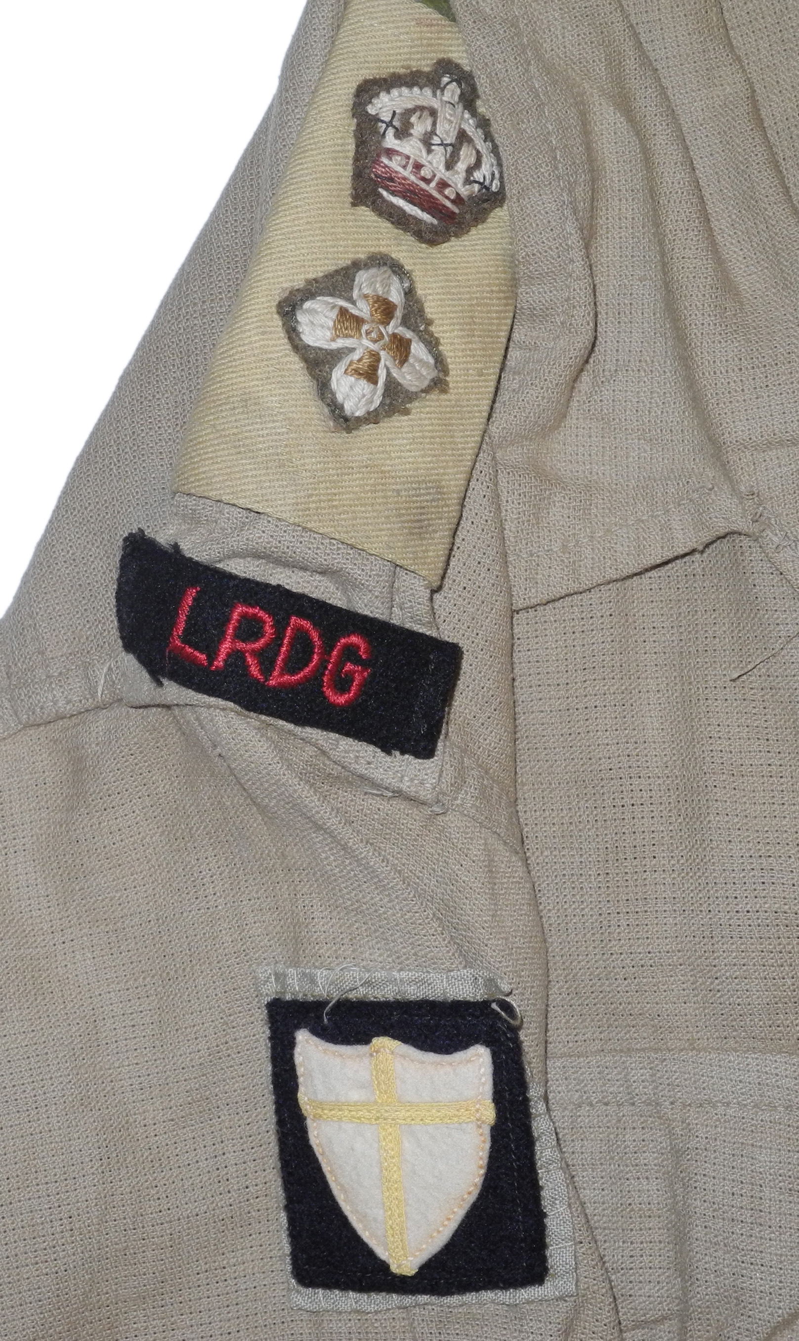 British 8th Army LRDG bush shirt/jacket