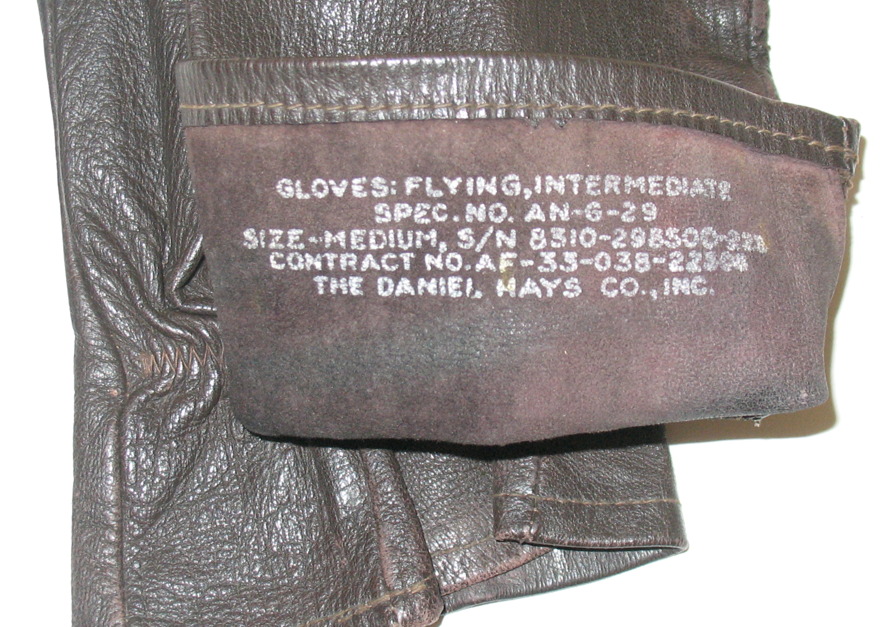 AAF USN flight gloves AN-G-29/A-11A