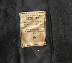 RAF sergeant service dress with pathfinder badge
