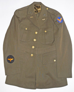 WWII AAF officer's service dress uniform jacket
