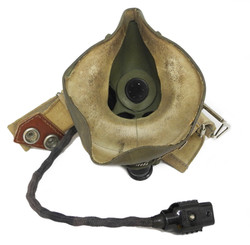 RAF Type H oxygen mask, early mic