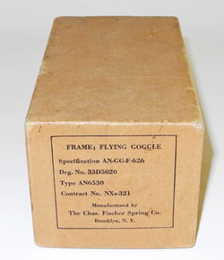 AAF AN6530 flying goggles in original box with extra lenses.