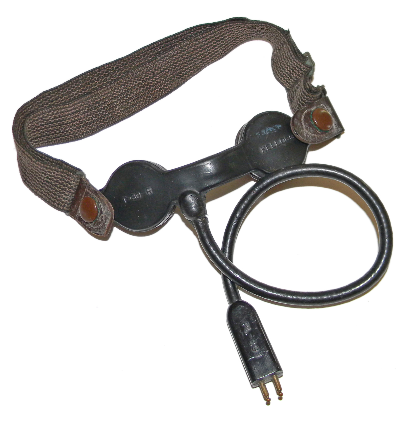 AAF T-30-R throat microphone