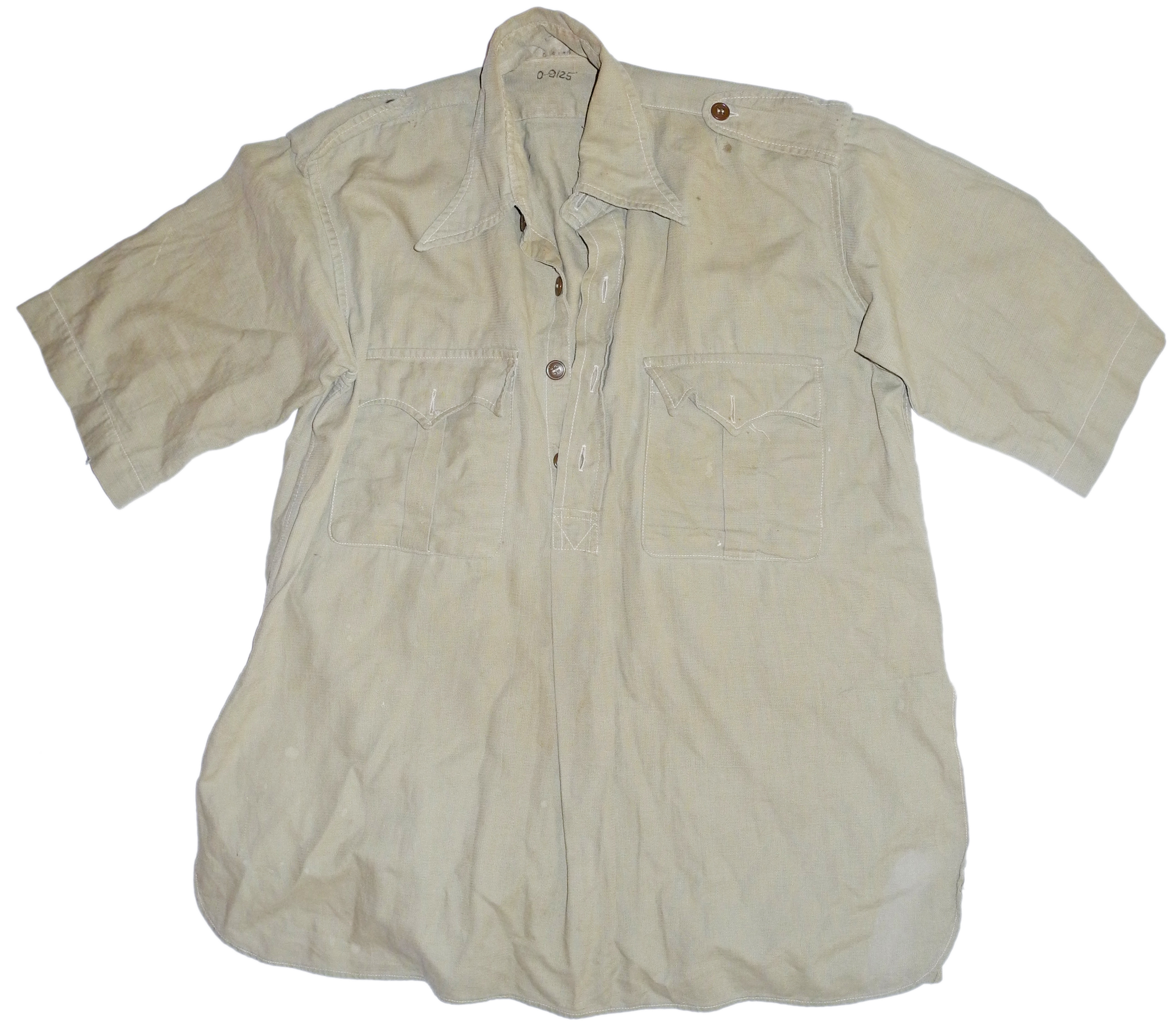 RAF / army bush shirt short-sleeved