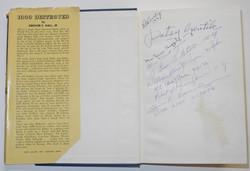1000 Destroyed Signed Copy
