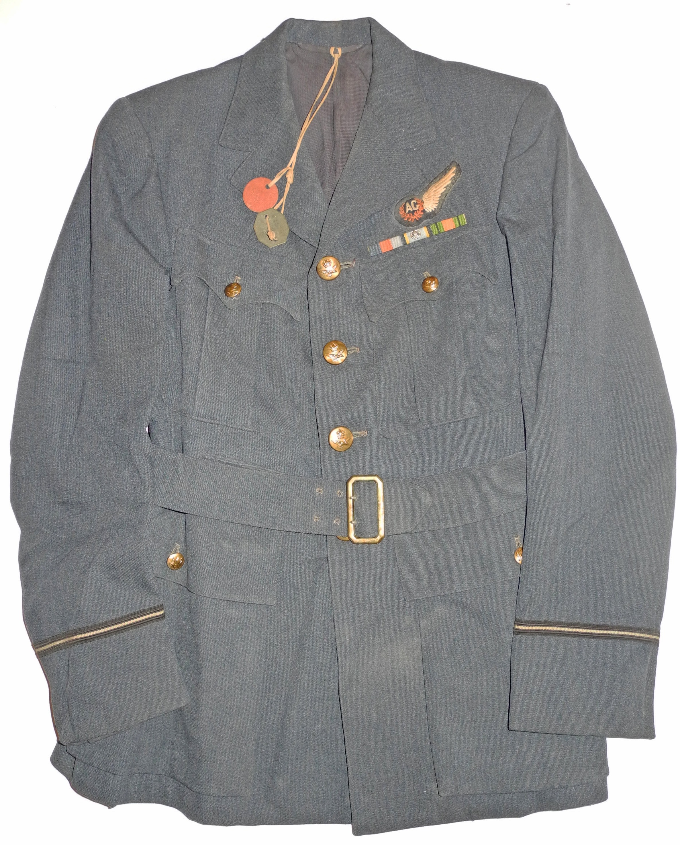 ID'd RAF Air Gunner uniform jacket