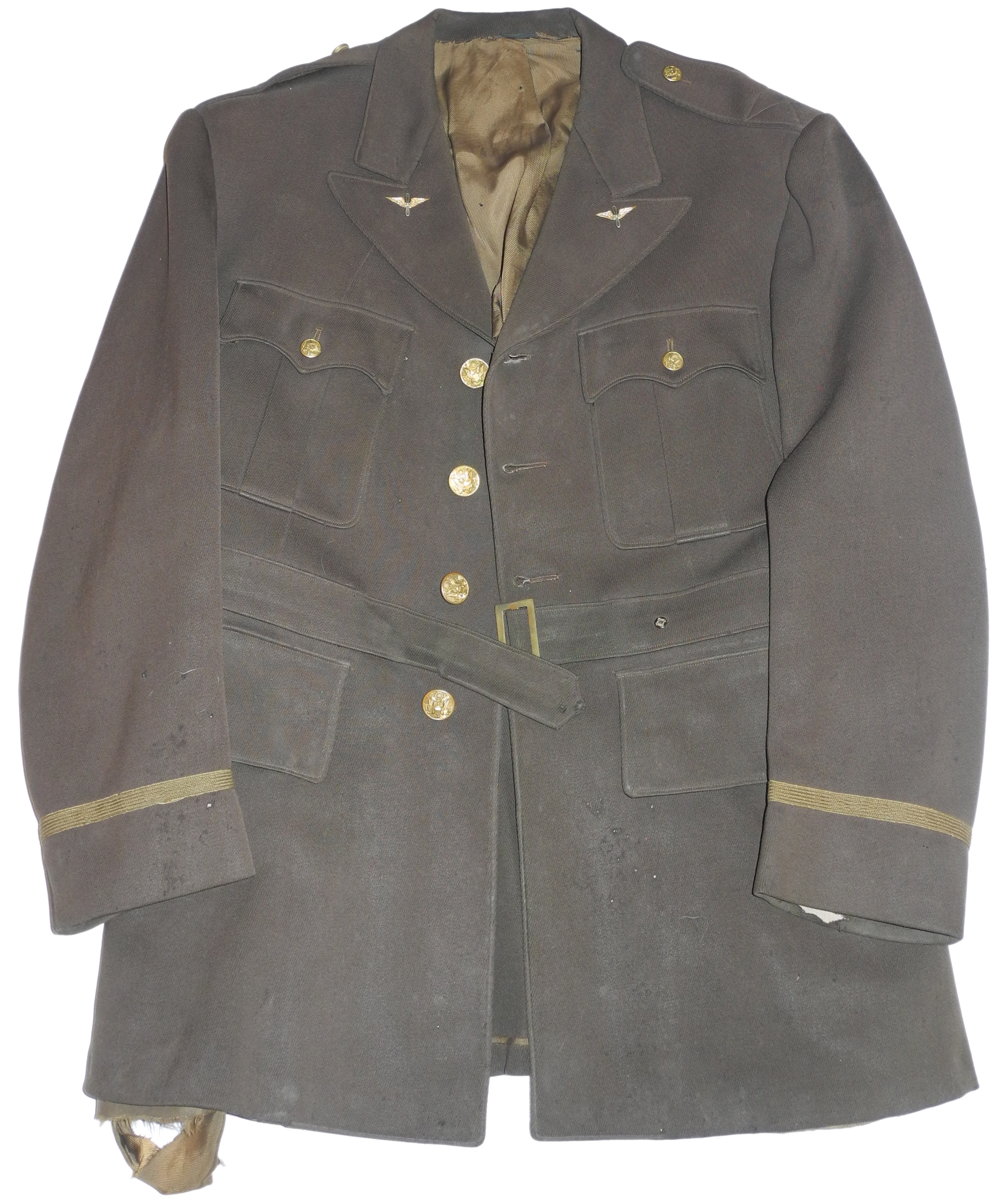 Army Air Corps officer's 1930s uniform