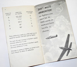"US Navy Air Gunner Training Manual ""Get that Fighter."""