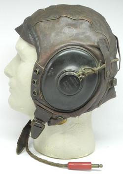 DSCAAF A-11 flying helmet, wired3177