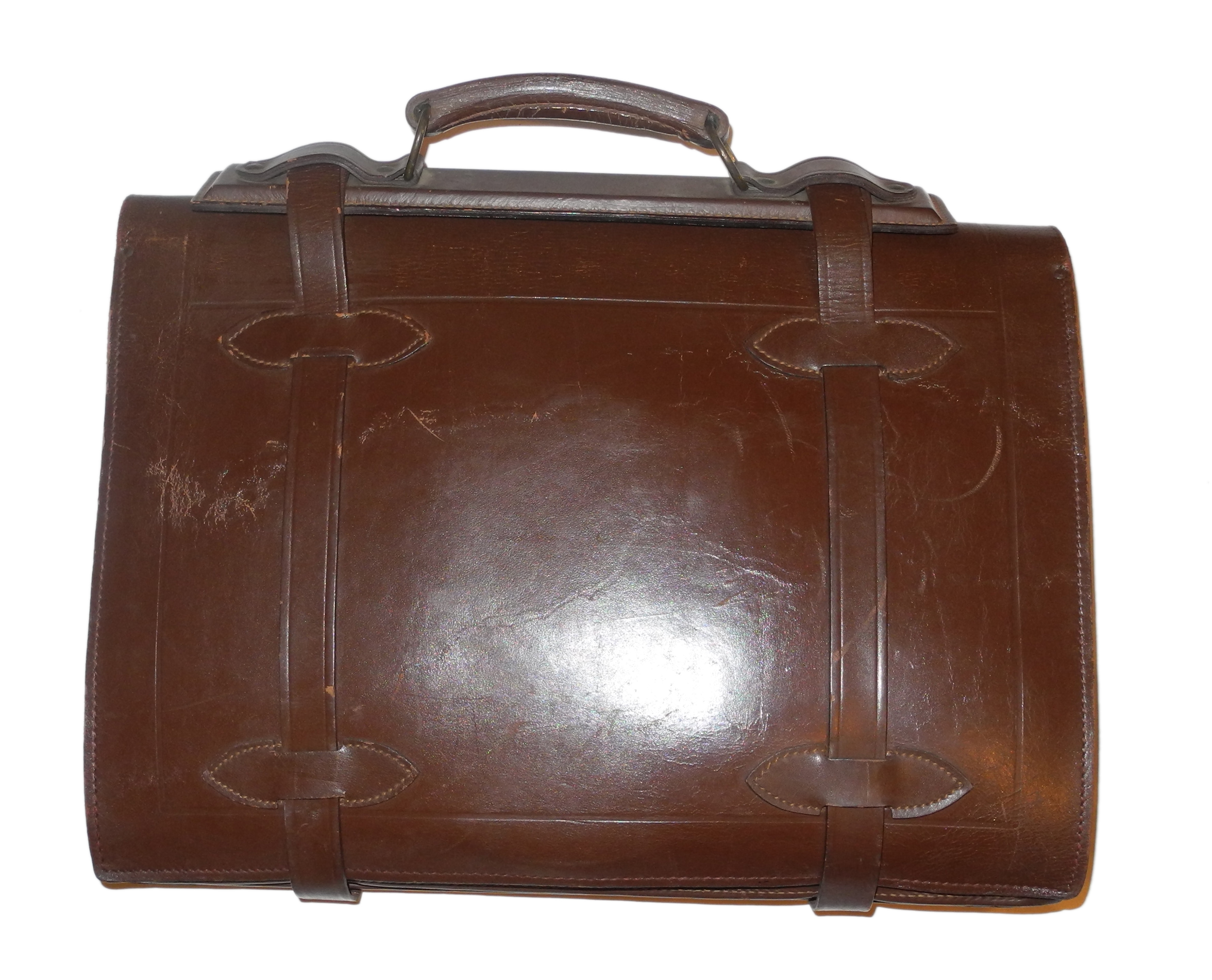 US Navy pilot's navigation kit case