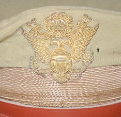 Theatre made AAF officer's crusher cap