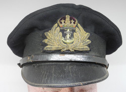 WWI Royal Navy officer's cap