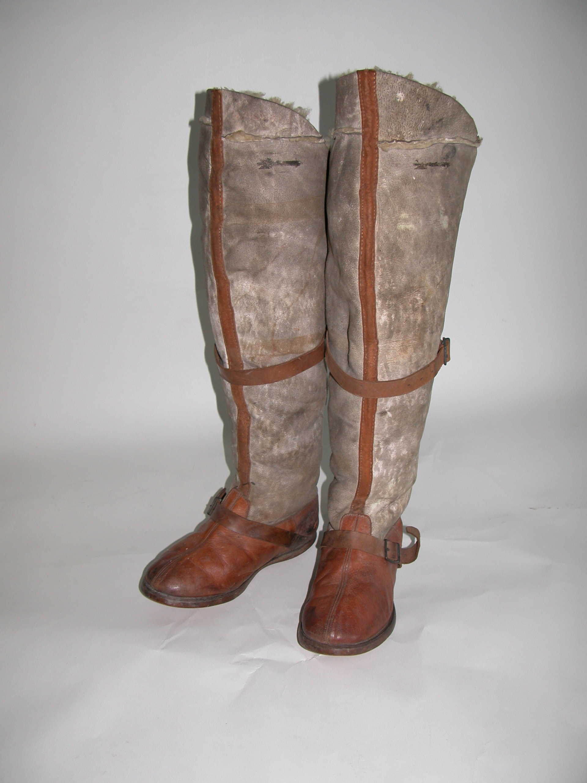 WW1 RFC Fug boots (cut down)