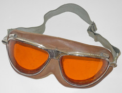 US Navy Mark IV flying goggles