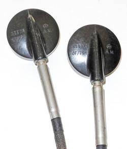 RAF Flying helmet Gosport receivers and tubes
