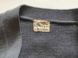 WAAF uniform cardigan, named and dated 1943
