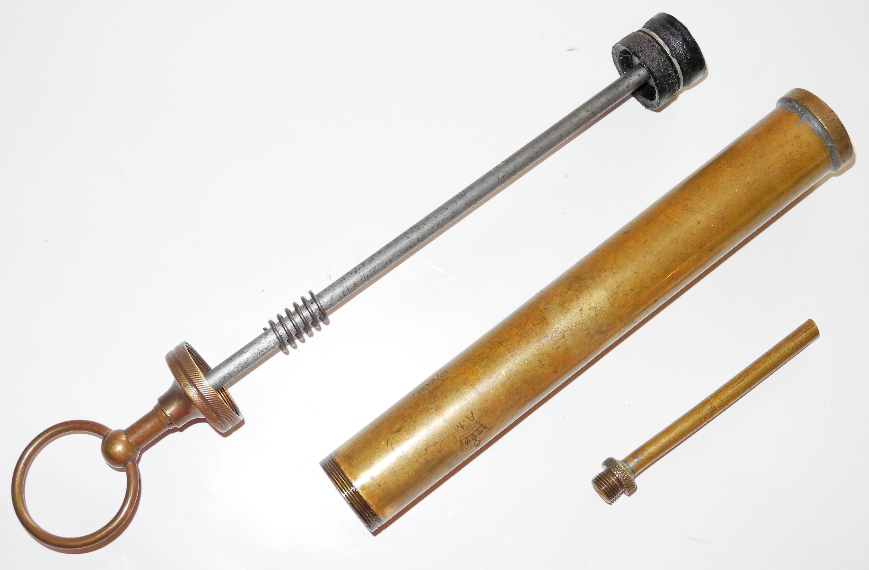 RAF mechanic's oil syringe/injector