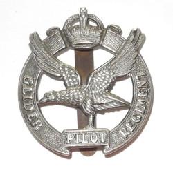 Scarce WWII Glider Pilot Regt. cap/beret badge, slider back