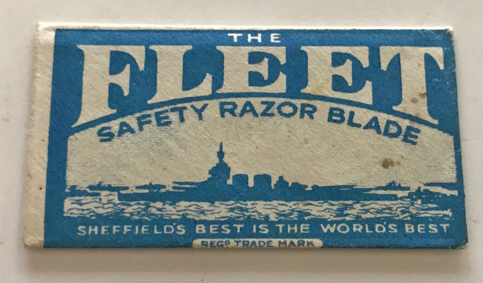 RAF razor blade escape compass